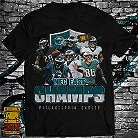 Philadelphia Football Team 2019 East Champions Fan Player Legends Jersey Unisex T-Shirt | Premium Tee | Long Sleeve T-Shirt | Hoodie | Sweater | Tanktop