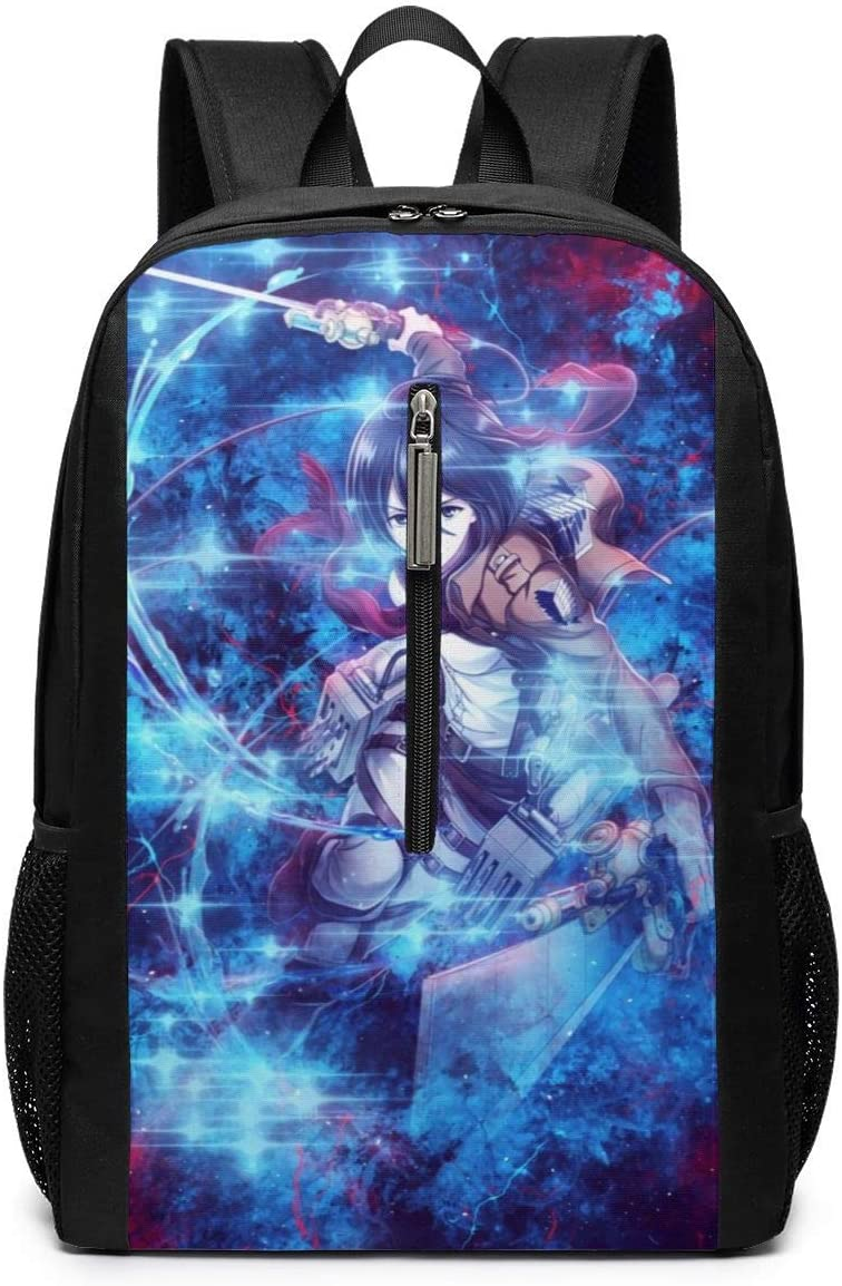 Homewifi Attack On Titan 17 Inch Backpack Laptop Adjustable Shoulder Business Travel School