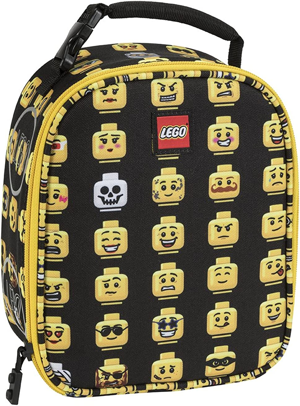 LEGO Kids\' Minifigure Crowd Lunch Backpack