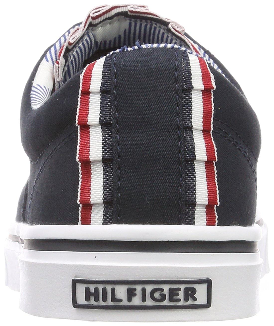 Tommy Hilfiger Damen Textile Light 403) Weight Sneaker Blau (Midnight 403) Light beaa87