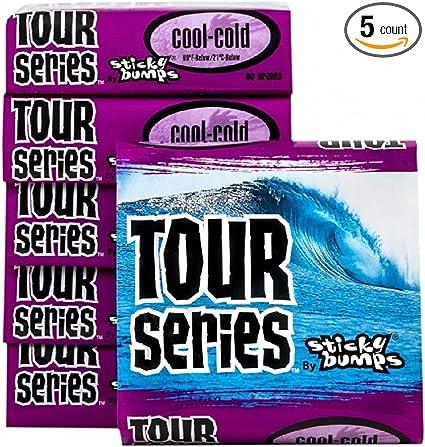 sticky bumbs surfboard longboard  surf wax 8 pack Warm tempature wax comb