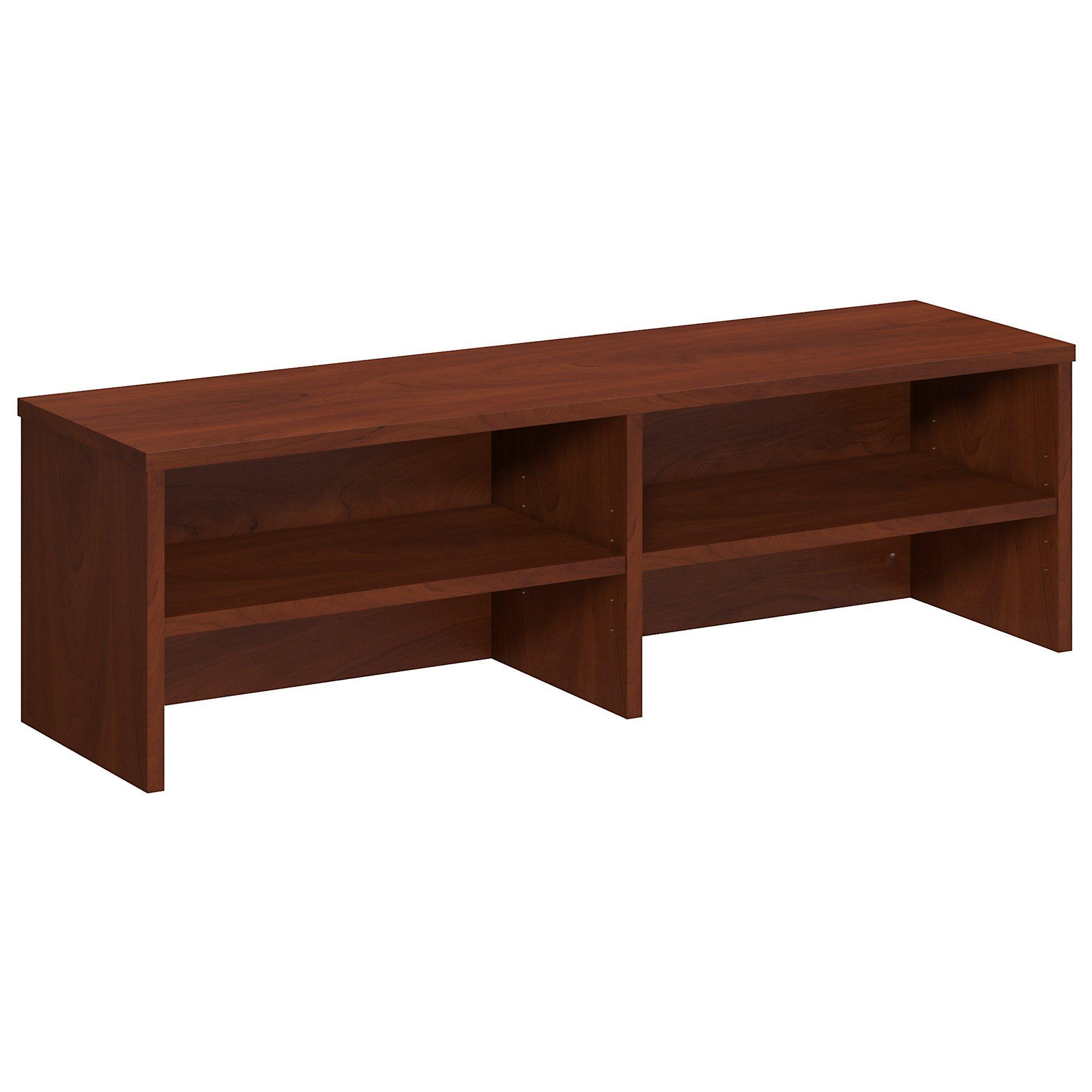 Bush Business Furniture Series C Elite 46W Desk Top Organizer in Hansen Cherry
