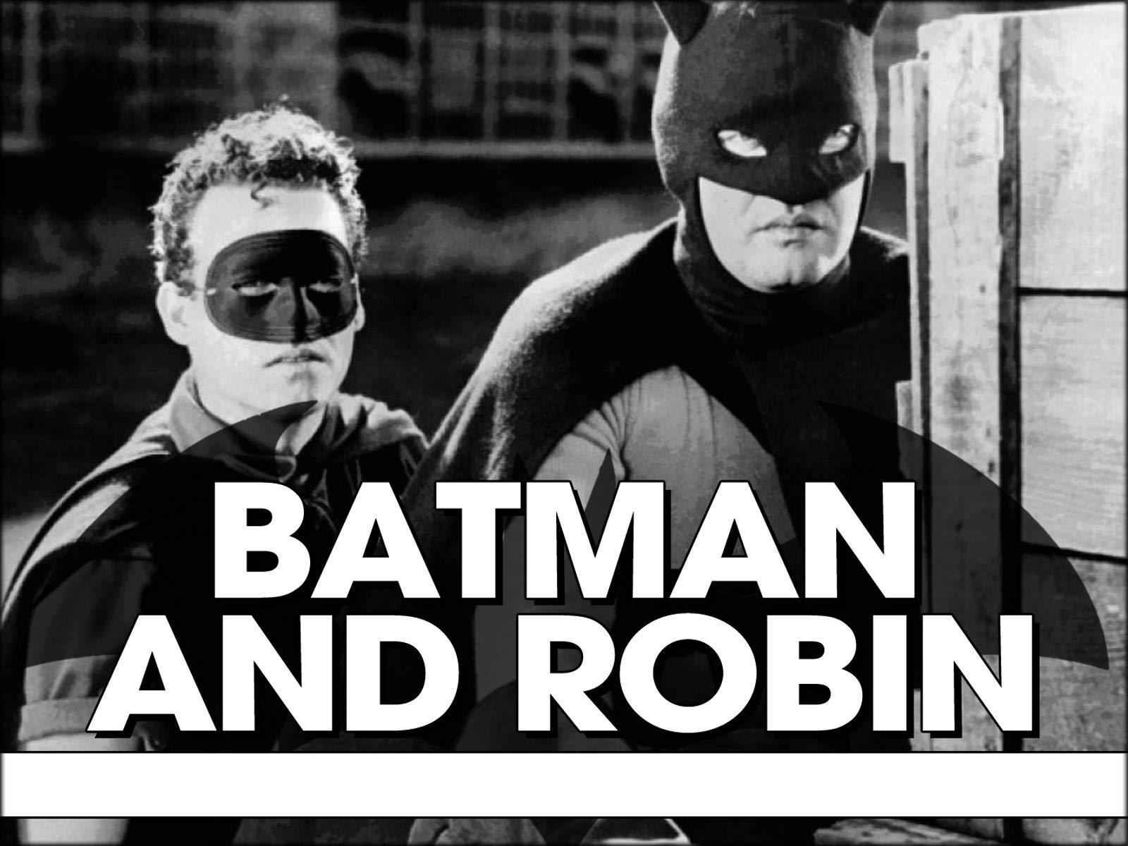 Batman and Robin on Amazon Prime Video UK