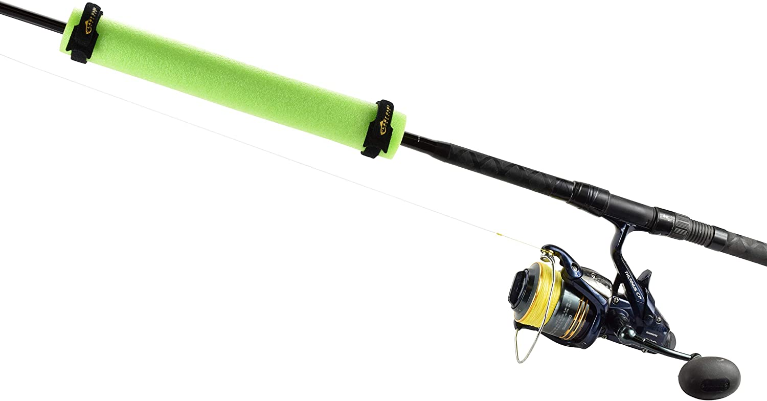 Great for Boats /& Kayaks Last Cast Tackle Fishing Rod Float 4 Pack