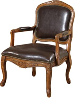 Williamu0027s Home Furnishing Traditional Studded Occasional Chair