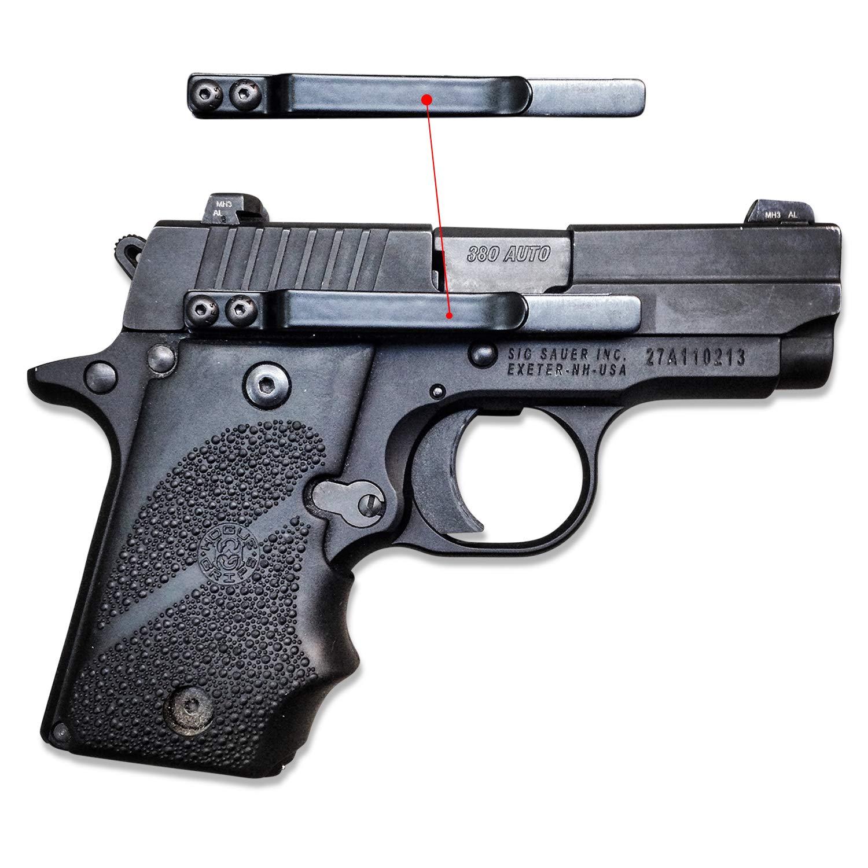 Amazoncom Clipdraw Sa B Universal Gun Holster Black Sports