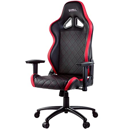 promo code bd653 3e341 Umi. Essentials High-Back Computer Chair with Adjustable Armrest and  Rocking Function (Red)