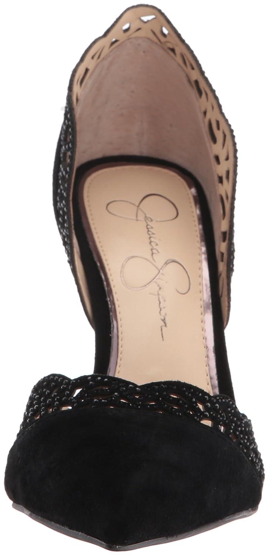 Jessica Simpson Women's Teriann Dress Pump B01HOE3RWM 7.5 B(M) US|Black