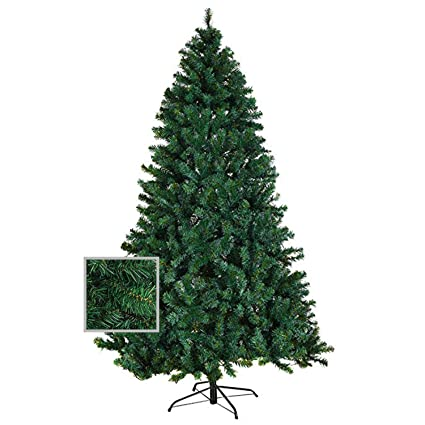 f4aeb2dfeb2 Image Unavailable. Image not available for. Color  Artificial Premium  Christmas Pine Tree With Solid Metal ...