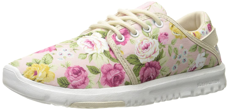 Etnies Womens Scout Sneaker B01M7MFUXD 8.5 B(M) US|White/Fuchsia
