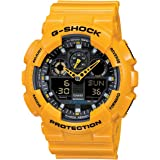 Casio G-Shock Men's Analog-Digital Dial Resin Band Watch - GA100A-9A