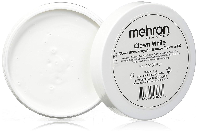 Mehron Makeup Clown White Professional Makeup (7 oz)