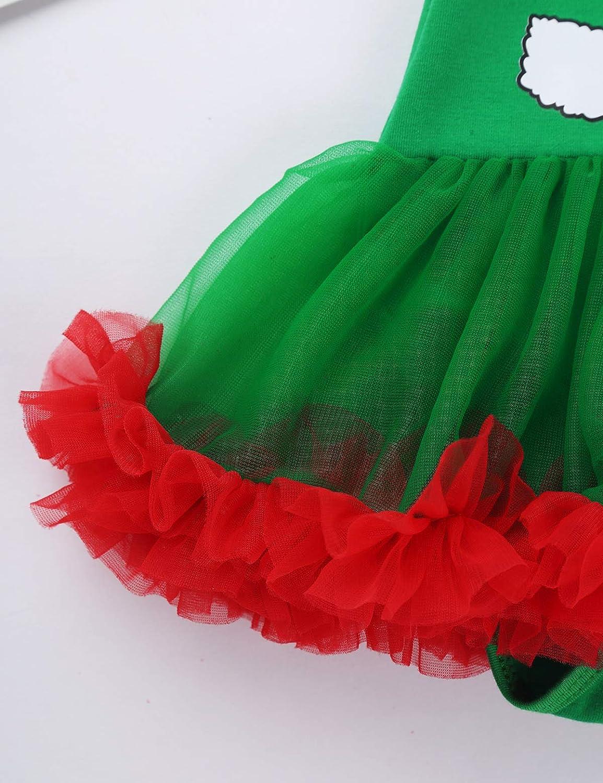 YiZYiF Baby Girls Outfits Newborn Infant Babys First Christmas Tutu Dress Up