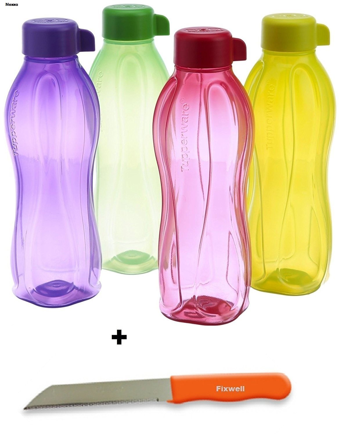 Tupperware Eco deportes 1 litro botella de agua potable Aqua ...