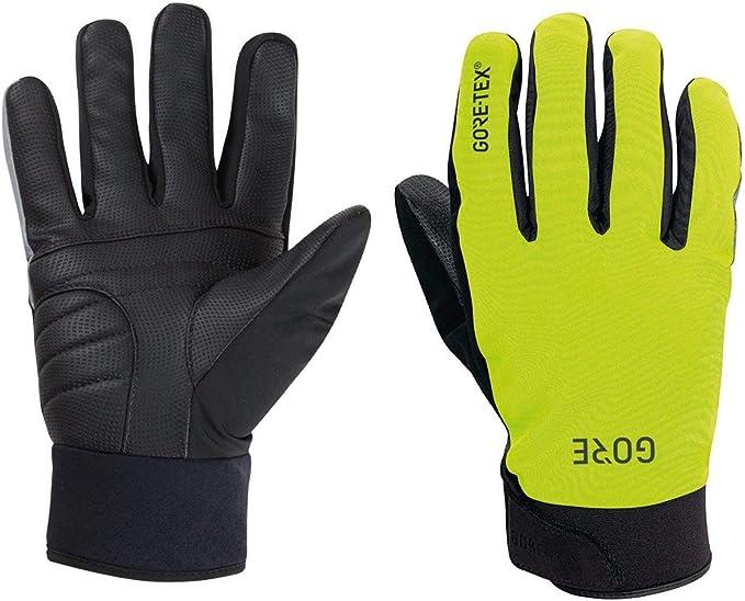 L Black//Neon Yellow Details about  /Gore C5 Gloves Gore-TEX INFINIUM