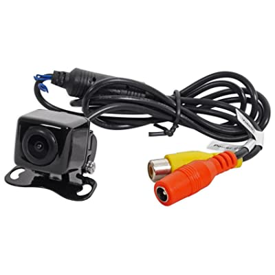 Dual Electronics Corporation BUCAM200 Car Backup Camera+Optional Grid Lines+Cables+Mounting Pad/Screws