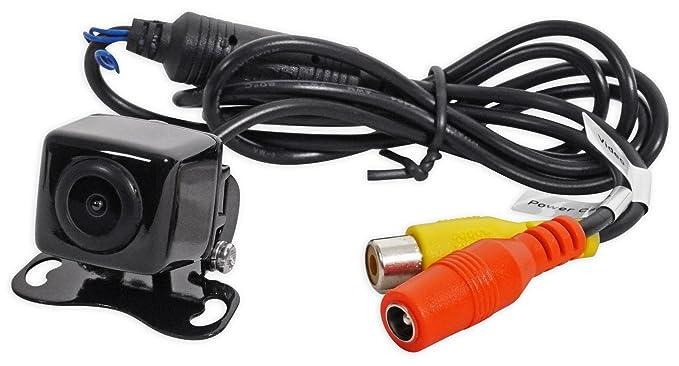 amazon com jensen bucam200 car backup camera optional grid lines rh amazon com Jensen Voyager Backup Camera jensen vx7020 backup camera wiring