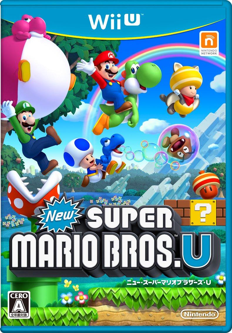 New Super Mario Bros.U(Japanese Version)