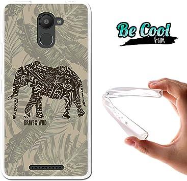 Becool® Fun - Funda Gel Flexible para Bq Aquaris U Plus, Carcasa ...