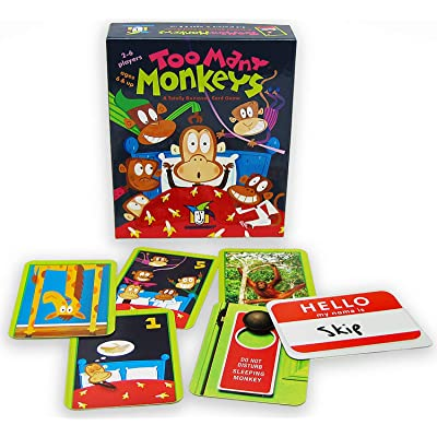 Gamewright Too Many Monkeys: Toys & Games