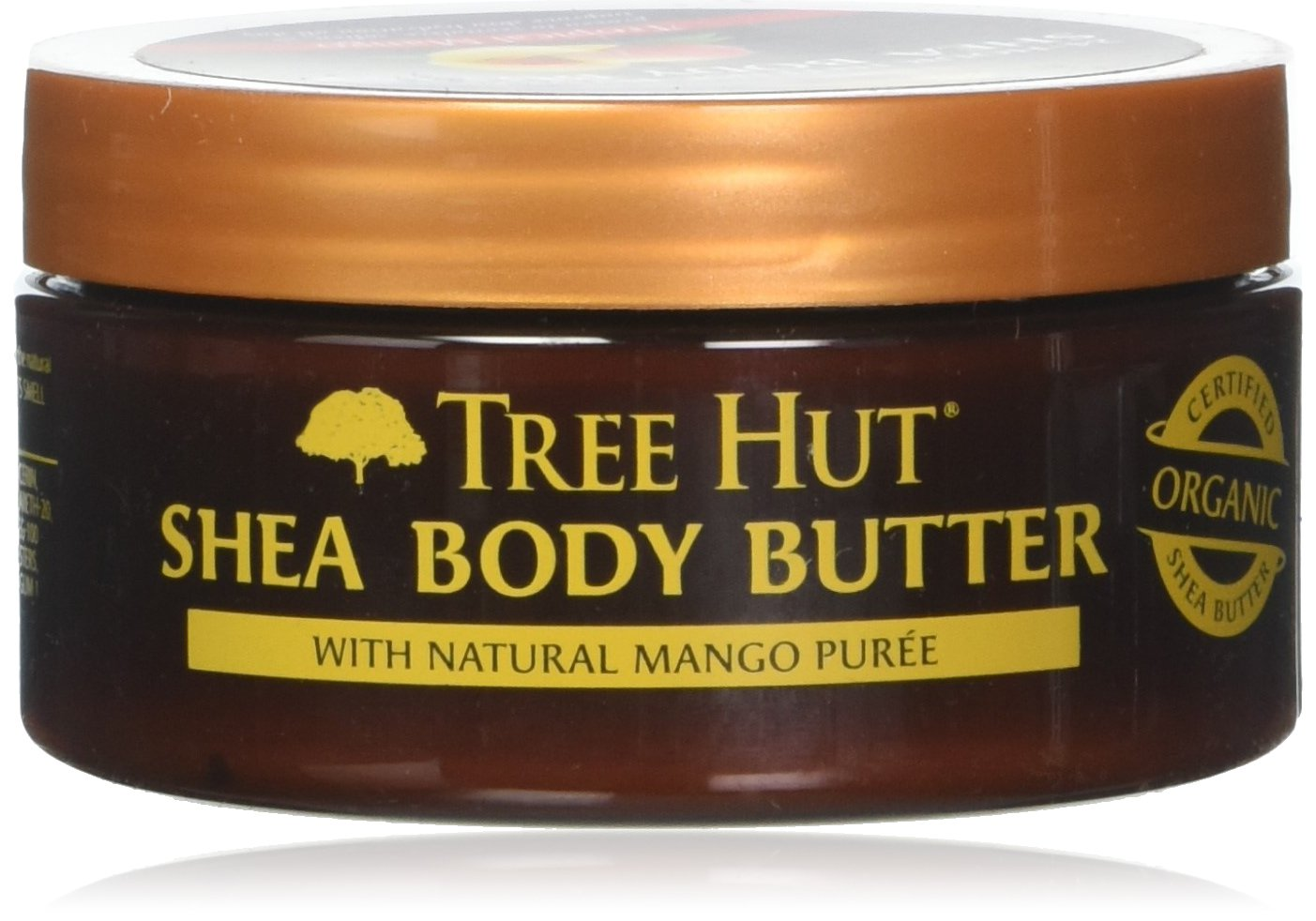 Tree Hut 24 Hour Intense Hydrating Shea Body Butter, Tropical Mango, 7 Ounce