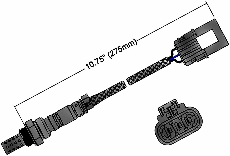 ACDelco 213-1268 Professional Heated Oxygen Sensor 213-1268-ACD
