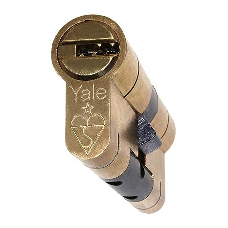 Yale - Bombín para cerradura protege contra el forzado, alta seguridad, PVC: Amazon.es: Bricolaje y herramientas