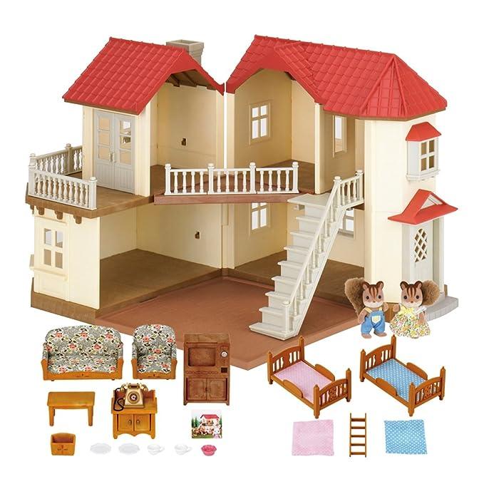 92 opinioni per Sylvanian Families Beechwood Hall, Casa delle Bambole con Set Regalo, 2