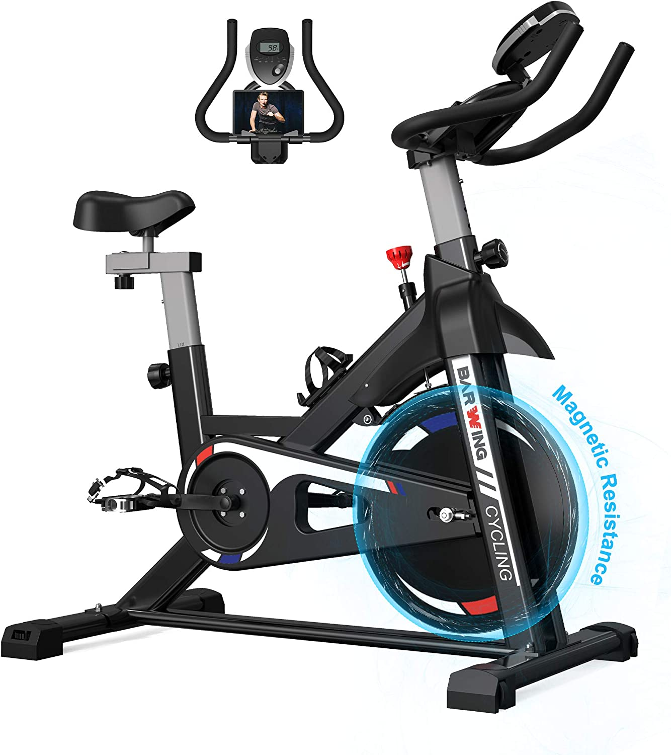 Barwing Magnetic stationary bike