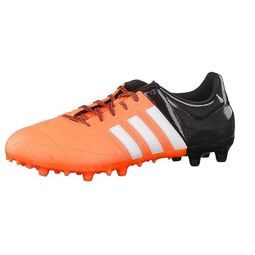 Adidas Herren Ace Low Fg Ag Lea Fussballschuhe Orange 40 5 Eu