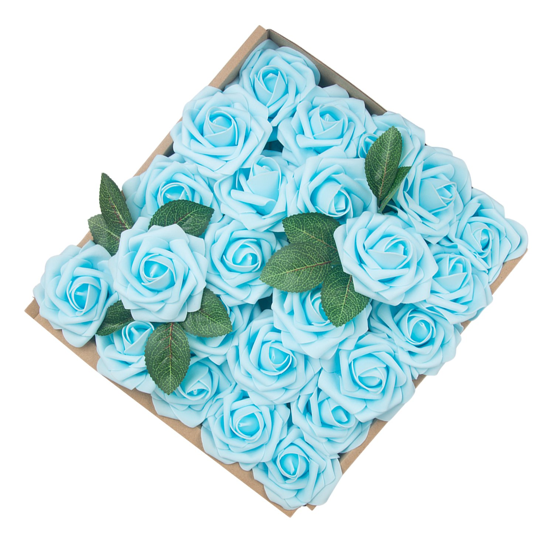 Blue Bouquet For Wedding Amazon