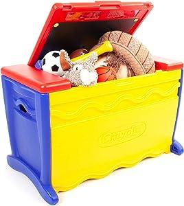 Crayola Draw N Store Toy Box