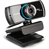 HD Live Streaming Webcam 1536P/1080P 3.0 Megapixel with Double Digital Microphone Video Calling Recording