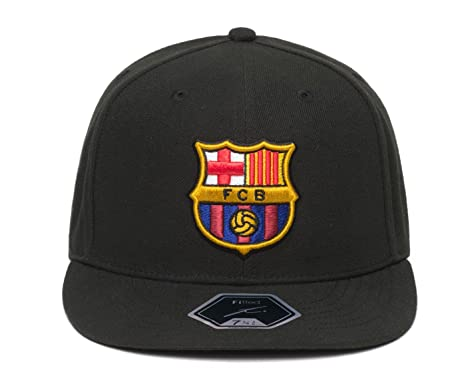 online retailer c4d00 7ed43 Fi Collection FC Barcelona Officially Licensed Fitted Dawn Cap (7 1 8 (56.8