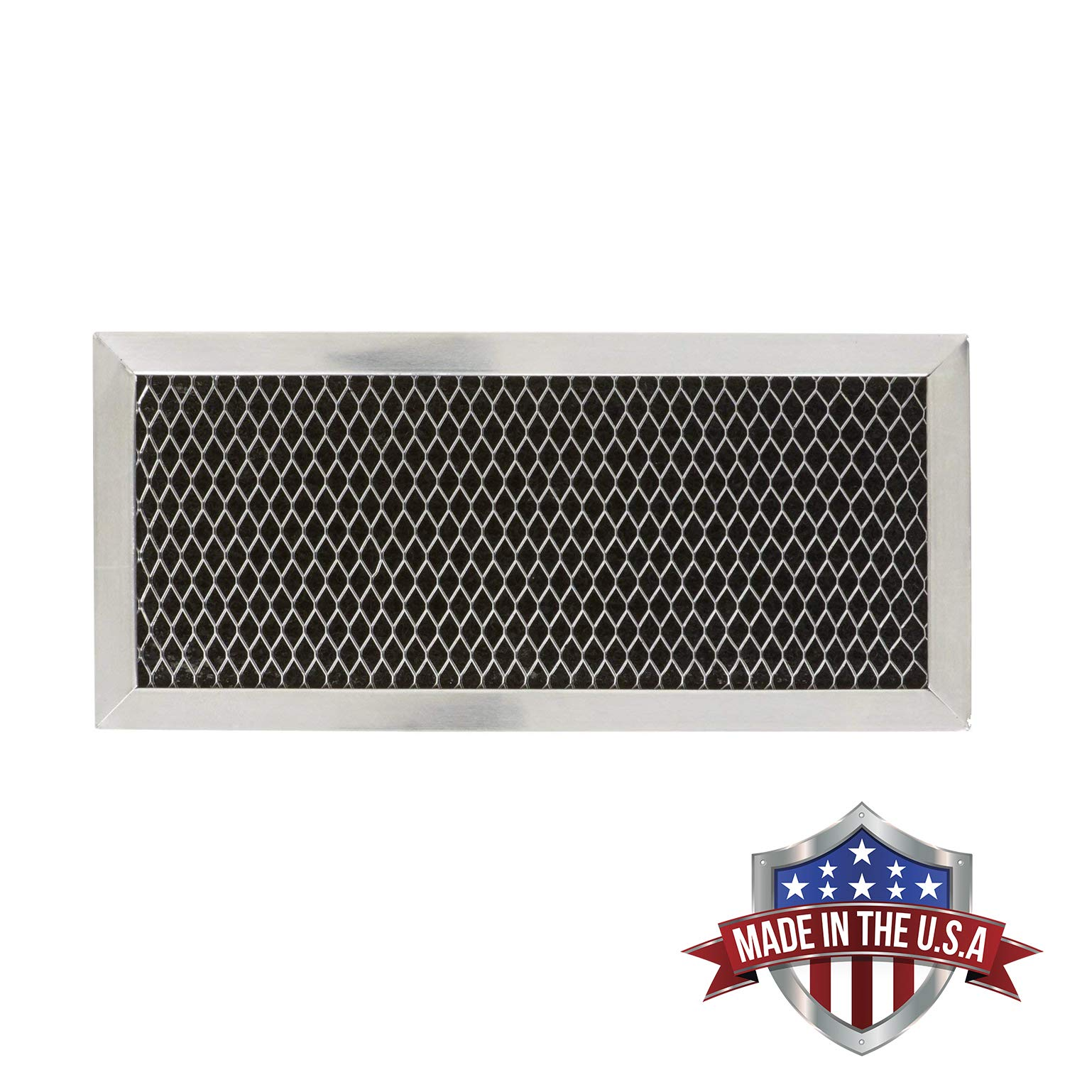 WB02X11544 5230W1A011C WB2X10956 Microwave Recirculating Charcoal Filter Compatible with GE LG Made in USA GE JX81H WB02X10956 1-Pack Zenith 5230W1A011A
