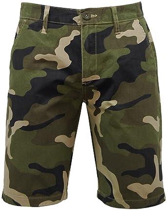 mens camo chino shorts