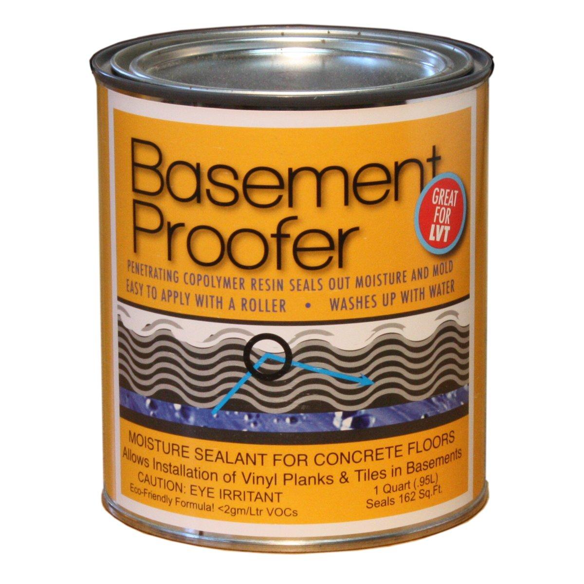 calflor ss96612 basement proofer concrete floor sealant 1quart wood moldings and trims amazoncom