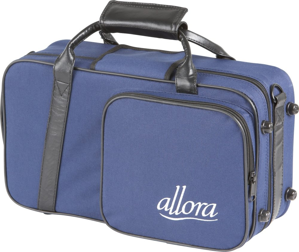 Allora Clarinet Case Blue, with Exterior Pocket