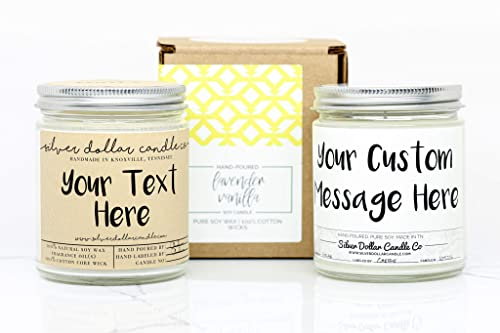 16 oz Candle Meditation Candle Prayer Candle Multi-color| Bring Customers Label