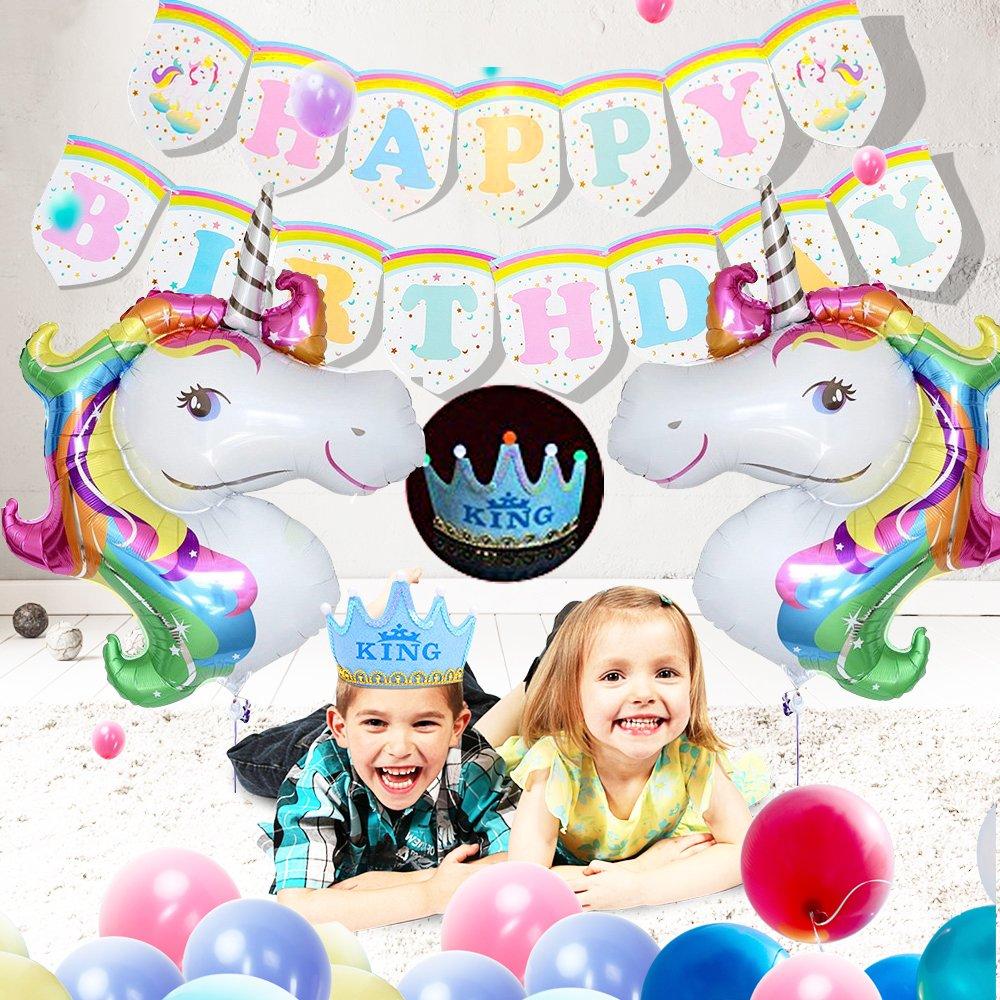 Paper Fans SPECOOL 3D Decorazioni per Feste di Dinosauri Mondo Jurassic Style Dinosaur Happy Birthday Banner e Balloons-Dinosaur Set Party Favors Giocattoli per Bambini Ragazzi