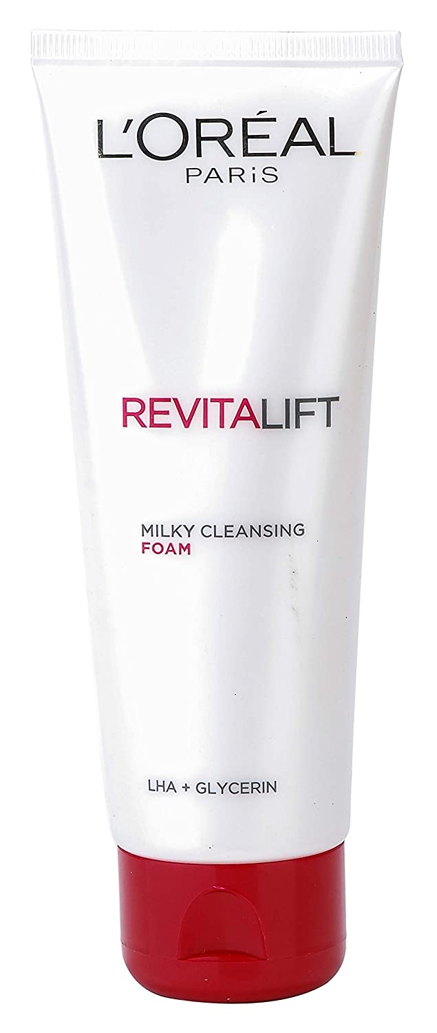 Buy Loreal Revitalift Milky Clenasing Facial Foam 50 Ml And Perfect Cleansing Skin 20 Facewash 50g Combo Pack With Free Ayur Soap Online At Low Prices In India