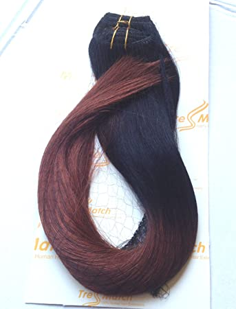 Amazon tressmatch 2022 clip in remy remi human hair tressmatch 2022quot clip in remy remi human hair extensions pmusecretfo Image collections