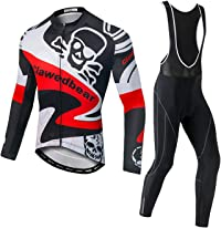 Maillot cycliste manches longues homme 1