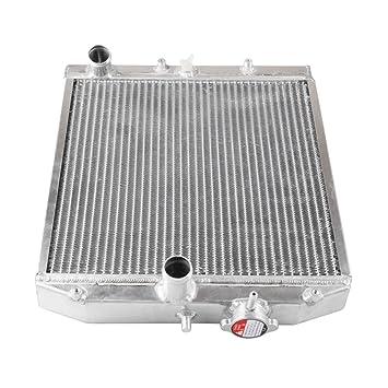 TOPQSC 92-00 Radiador Tanque de agua de fila doble del coche radiador de aluminio