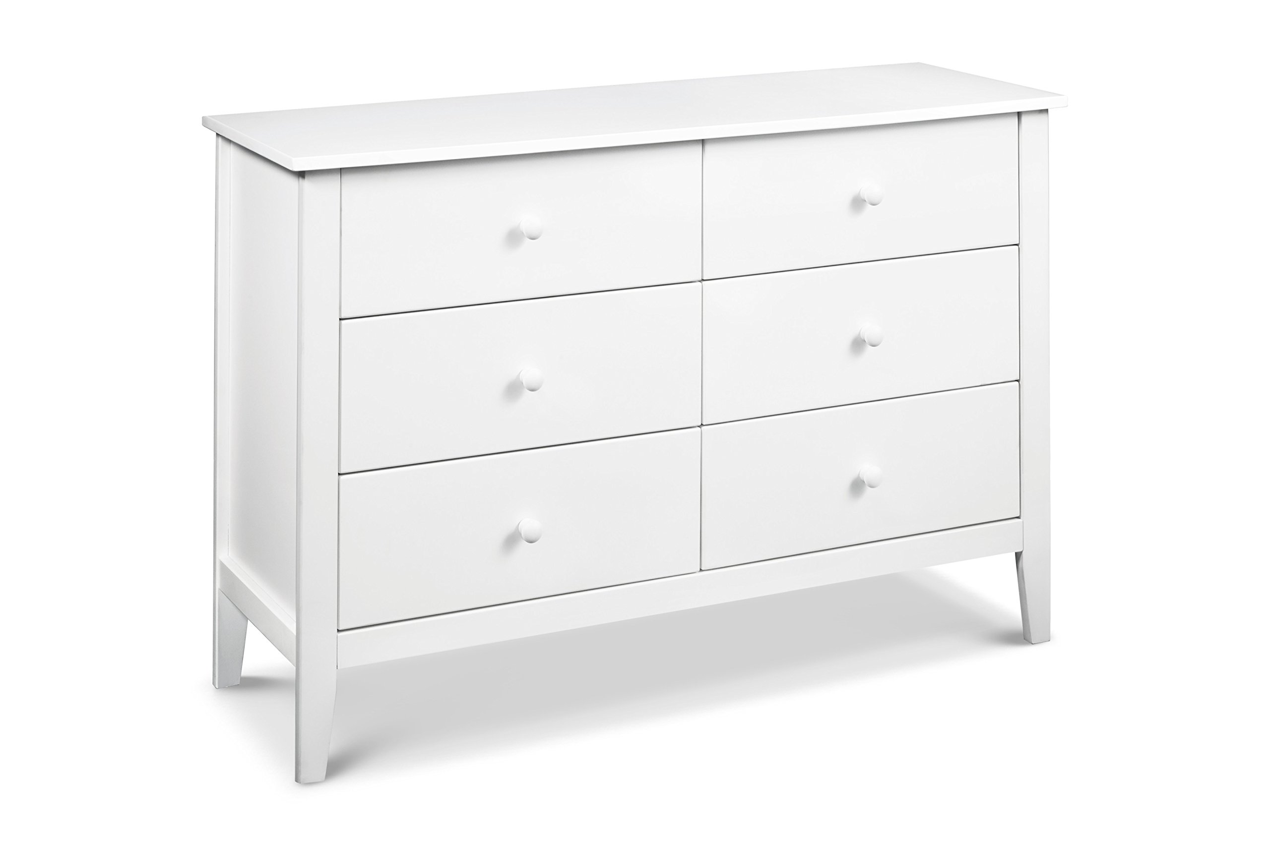 Carter's by DaVinci Morgan 6-Drawer Double Dresser, White