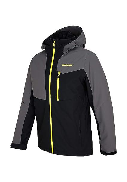 Ziener Paron Man (Jacket ski) Chaqueta, Hombre, Negro, 46