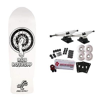 """Santa Cruz Skateboards Complete Roskopp One My Colorway Old School Reissue 10"""" : Sports & Outdoors"""