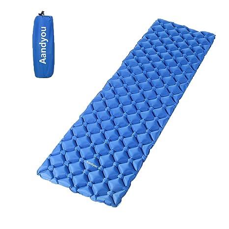 Sport Camping Aufblasbare Isomatte,ultraleicht Mat Mit Kissen Wasserdichte Schmerzen Haben Isomatten & Matratzen