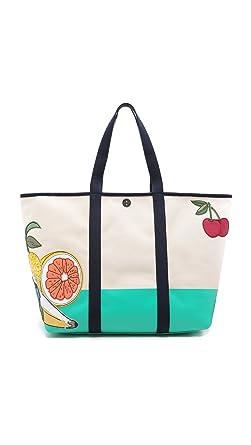 1b660d83d6fe Amazon.com  Tory Burch Penn Applique XL Tote Bag