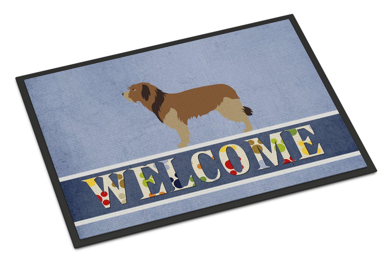 Carolines Treasures Greenland Dog Christmas Doormat 24hx36w Multicolor